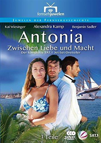 Bild von Antonia: Zwischen Liebe und Macht - Der SAT.1 Jet-Set-Dreiteiler (Fernsehjuwelen) [3 DVDs]