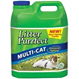 Litter Purrfect Lemongrass Cat Litter, 15.9kg