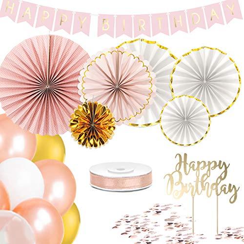 -Set in rosé Gold (Happy Birthday) ()