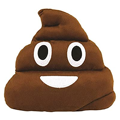 Cute Poop Emoticon Cushion Larger Emoji Pillow Toy Stuffed Toy Home Decor Poo Shape - low-cost UK light shop.