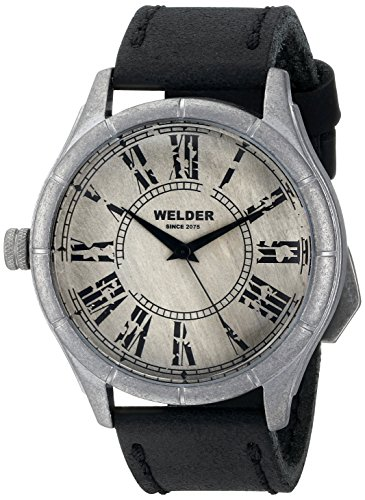 Welder Unisex-Armbanduhr Analog Quarz Leder K21 502