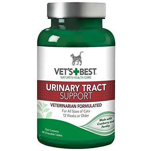 VET 'S BEST Feline Urinary Tract Support Katze Nahrungsergänzungsmittel, 60Kautabletten