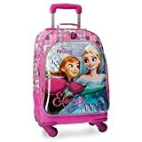 DISNEY Frozen Magic - Kinder Rucksack mit System Trolley