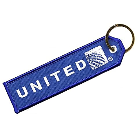 ACI Collectables United Continental Embroidered Keyring