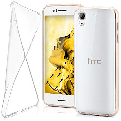 moex HTC Desire 728G   Hülle Silikon Transparent Klar Clear Back-Cover TPU Schutzhülle Dünn Handyhülle für HTC Desire 728G Case Ultra-Slim Silikonhülle Rückseite