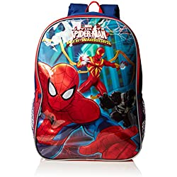 Marvel Boys' Spiderman Backpack, Multi, One Size