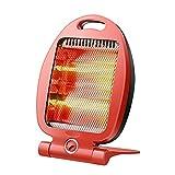 HSJZ Home Riscaldatore Domestico Piccolo Diamante 2 Marcia Piccola Potenza riscaldatore Elettrico riscaldatore Ventilatore Caldo Risparmio energetico Anti-Caduta