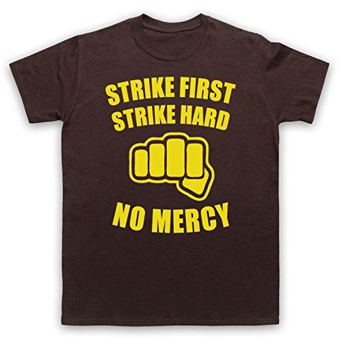 Inspiriert durch Karate Kid No Mercy Unofficial Herren T-Shirt Braun
