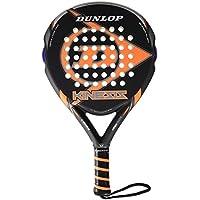 Dunlop Kinesis Pala de Padel, Unisex Adulto, Negro-Naranja