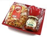 Geschenkset mit Herz-Nudeln Pasta Amore