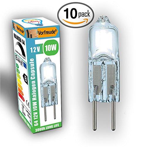 vorfreuder-lifetime-guaranteed-halogen-g4-12v-10w-bulbs-10x-pack-of-10-2500-hour-25-longer-life-warm