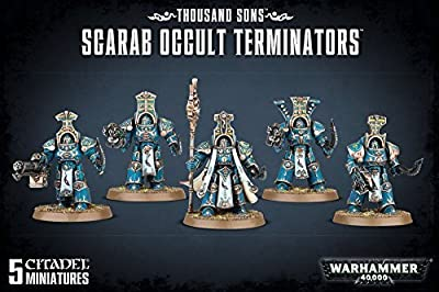 Thousand Sons - Scarab Occult Terminators 43-36 - Warhammer 40,000