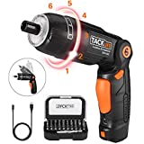 Tacklife SDH13DC Advanced Portable Rechargeable Electric Cordless Screwdriver with 3.6 V Lithium-Ion Battery