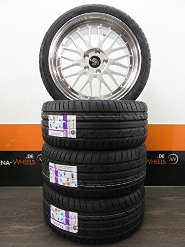 4 Sommerräder 19 Zoll passend für AS8K B8 A6 4F TT 8J 8S 8.5J Ultra Ultra Wheels UA3-LM ACHILLES NEU