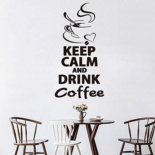 Zxddzl Cotizaciones de café Decoración para el hogar Decoración de acrílico Moderna para la decoración...