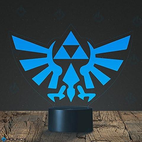 mt-decor-lamp - Legend of Zelda Triforce