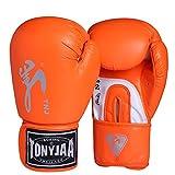 Guantoni da boxe Junior Kids & Adult Taglie Muay Thai Training Pelle Sparring Punching Bag, 1,12 oz