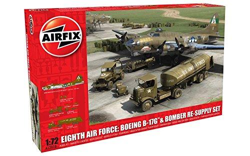 Airfix A12010 Modellbausatz Eight Air Force Resupply Set, Spiel