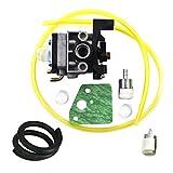 JRL Vergaser Carby Kraftstofffilter Dichtung passt Fit Honda-Rasentrimmer Motorsense GX35Motor