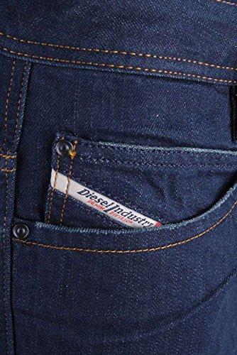 Diesel Herren Jeans Hose Paddom Regular Straight 008IL #28 Dunkelblau