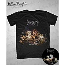 Package : t-shirt (taille XL) + CD de l'album Finis Gloriae Mundi de Maleficentia
