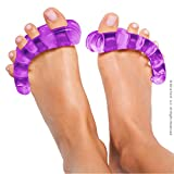 YogaToes® - The Natural Path for Foot Health - Colour Purple - Size Xsmall (Pair)