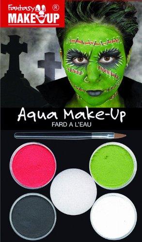 Kreul 37093 - Fantasy Aqua Make Up Picture Pack Zombie