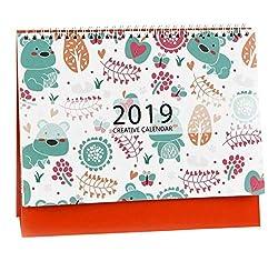 Se stai cercando un calendario che offra no-no-confusione, allora questo calendario per il 2019 è perfetto !!! Calendario Planner Tutti amano registrare le attività quotidiane, come pianificare attività quotidiane o appuntamenti, tenere traccia de...