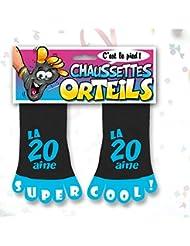 Chaussette Orteils Femme la 20 aine Super Cool Taille Unique