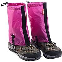 Black Temptation Impermeable Senderismo/Escalada / Camping/Esquí Zapatos Gaiters - M Rose