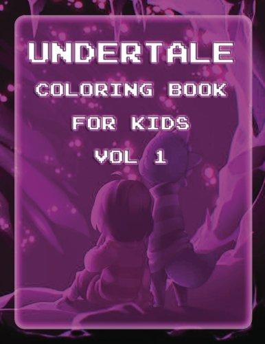 Pdf Undertale Coloring Book For Kids Vol 1 Undertale Coloring