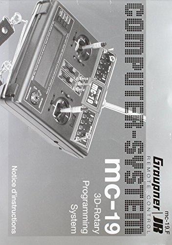 8000 MC 19 F - Graupner - Handbuch MC-19,Französisch