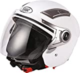 BHR 93318 Casco, Color Blanco, Talla 61