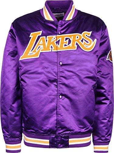 Mitchell & Ness Herren Jacken / College Jacke HWC Team Los Angeles Lakers violet S