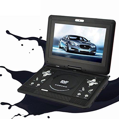"""10"""" Tragbarer DVD-player,Cd-spieler Für auto Mit schwenkbarer bildschirm Perfekte geschenke für kinder Reise Camping-schwarz"""