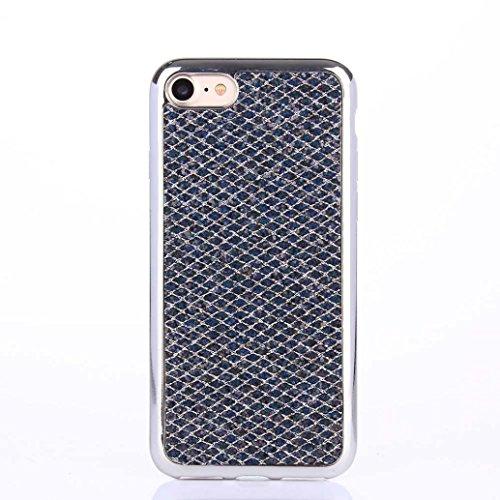 Cover per iPhone 7, Tpulling Custodia per iPhone 7 Case Cover Custodia in silicone morbida antiurto TPU per IPhone 7 4.7 pollici (Pink) Gray