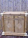 Bambuskommode Kommode Bambus Schrank Regal Lowboard Sideboard Tai San