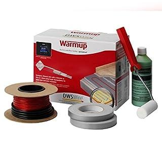 Warmup Underfloor Heating System DWS400 2.5-3.4 Sq/Mtr 400w (Stone Or Ceramic Tiles, Dual-Core Heating Element) DWS400