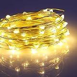 Togather® jardín Patio 100 USB LED Hada estrellada cadena luces impermeables Micro alambre de cobre luces LED para la celebración de días festivos de la decoración DIY-caliente colores