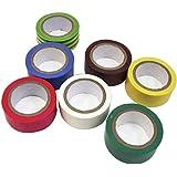 Generic Lab Fournitures 3051754ruban isolant en PVC mixte, 19mm mm x 5m (lot de 24)