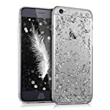 kwmobile Apple iPhone 6 / 6S Hülle - Handyhülle für Apple iPhone 6 / 6S - Handy Case in Silber Transparent