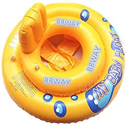 Bbway Flotteur avec siège En forme d'anneau Pour enfant de 6-18mois