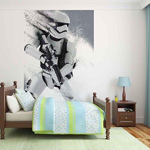 Star Wars Erwachen Macht Sturmtruppler - Forwall - Fototapete - Tapete - Fotomural - Mural Wandbild - (2755WM) - DOOR - 211cm x 90cm - VLIES (EasyInstall) - 1 Piece