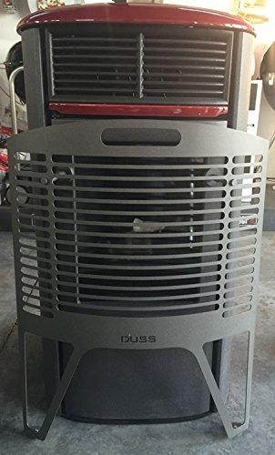 Protecteur pour le verre de poêles à granulés et à bois DUSS BIO L Hauteur: 74 cm Fond: 8 cm Largeur: 56 cm