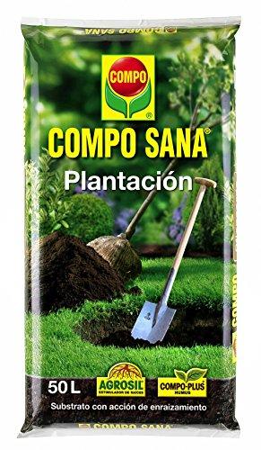 Compo Substratos y turbas Sana plantación, 50 l, 36x10x80 cm