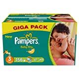 Pampers Baby Dry Size 3 Giga Pack 156 Nappies