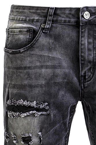 Black Premium by EMP Pete Washed (Straight Fit) Jeans schwarz Schwarz