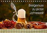 Biergenuss zu jeder Jahreszeit (Tischkalender 2019 DIN A5 quer): Stimmungsvolle Fotografien von Bier, entstanden in den verschiedenen Jahreszeiten. (Monatskalender, 14 Seiten ) (CALVENDO Lifestyle)