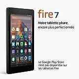 """Tablette Fire 7, écran 7"""" (17,7cm), 8Go (Noir) - avec offres spéciales"""