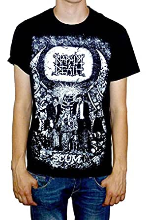 Napalm Death Scum: Vintage T-shirt - Small